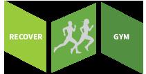 Recover Gym Logo