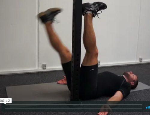Et bens hofte mobilisering med hold
