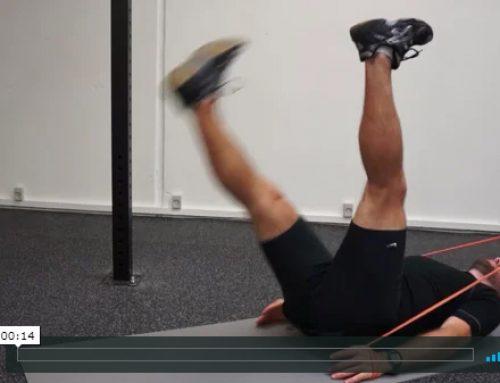 Et bens hofte mobilisering med core aktivering