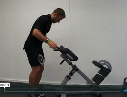 Lodret pres med vægt i stativ (dips)