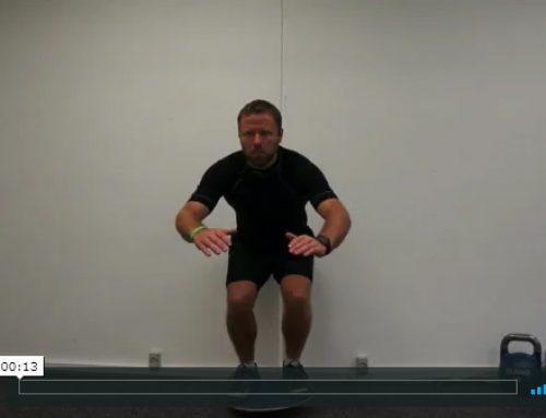 Vippebræt – squat
